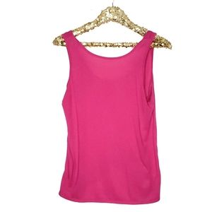 Old Navy Pink Athleisure Yoga Tank L